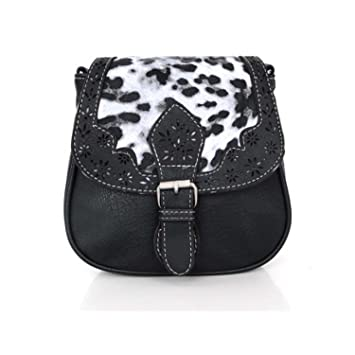 3e907a665e5 Black Friday Deals Cyber Monday Deals Week-handicrafts Leopard Sac de selle  pour femme Style vintage Cuir véritable Cross Body Sac à bandoulière fait  main ...