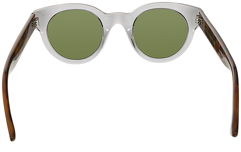 Gucci Herren Sonnenbrille GG0002S 005, Silber (Silver/Silver), 46