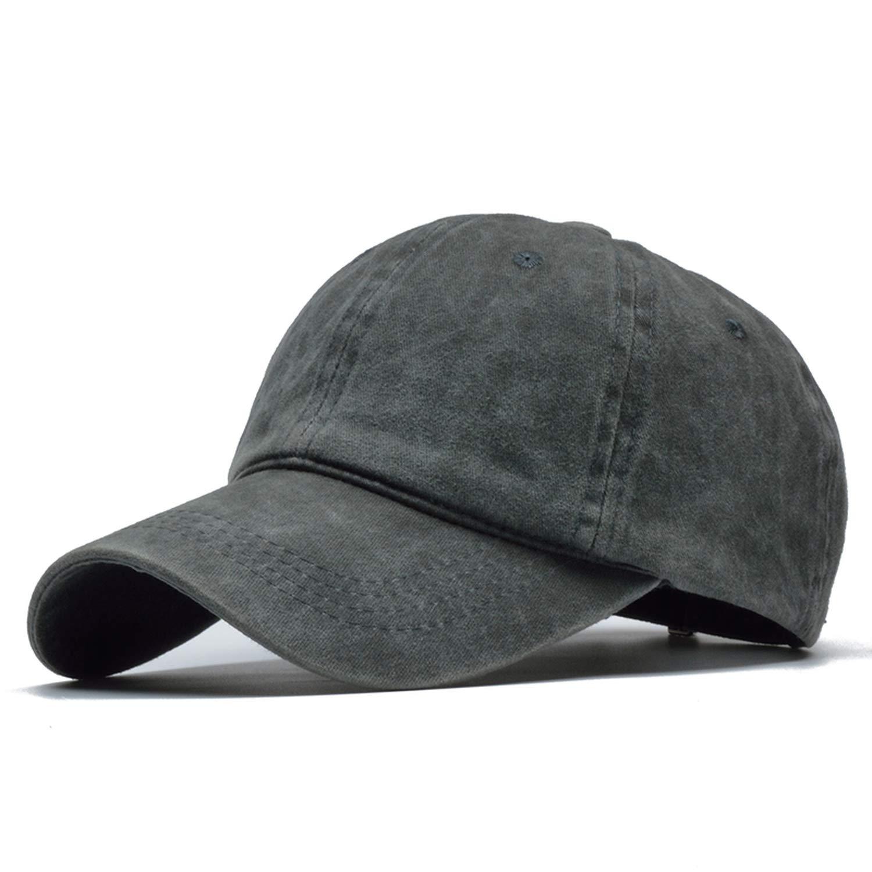 Unisex Solid Washed Baseball Cap Bone Feminino Caps Gorras para Hombre Hip Hop Dad Hat Bone Trucker Caps Army Green at Amazon Mens Clothing store: