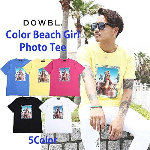 DOWBL/ 【全5色】 Color beach Girl Photo Tee 【予約商品】 ダブル/