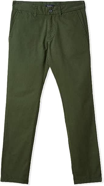 Nautica Straight Trousers for Men - Pine