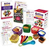 Portion Control Containers 7 Pieces, Multi-Colored