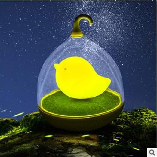 Jaula De Pájaros Productiva Creativa Pequeña Luz De Noche Cargando ...