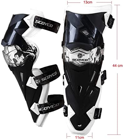 TRJGDCP New Yellow Protector Knee,MTB Guard Motorcross Anti-fall Windproof Extreme Moto Guard Racing Cycling Knee Shin Protector Riding Knee Support