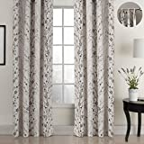 ChadMade Country Style Plum Blossom Polyester 72Wx84L Inch (1 Panel) Blackout Lined Curtain Drape Pinch Pleat SOFITEL Collection For Bedroom | Living Room | Club | Restaurant For Sale