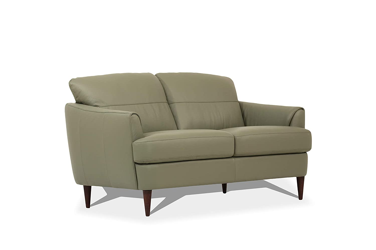 Amazon.com: ACME Furniture Tacoma Loveseat, Moss Green ...