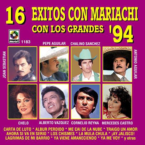16 Exitos Con Mariachi Con Los...