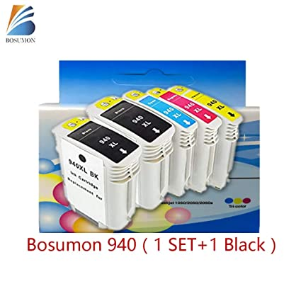bosumon 940 X L Pack de 4 cartuchos de tinta compatibles para HP ...