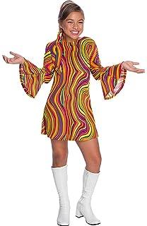 Amazon.com: Charades Costumes - Girls Disco Princess Costume ...
