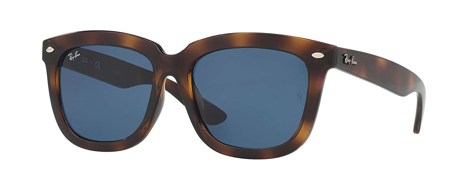 4ef983c31f8 Ray Ban Sunglasses RB4262D 710 80 57-18 Tortoise Blue Classic   Amazon.co.uk  Clothing