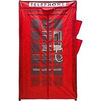 Balvi Armario London Color Rojo con Cremallera Incluye