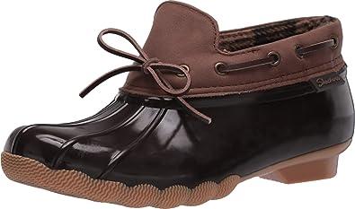 diario María Quemar  Amazon.com: Skechers Pond-Posy - Botas impermeables para mujer: Shoes