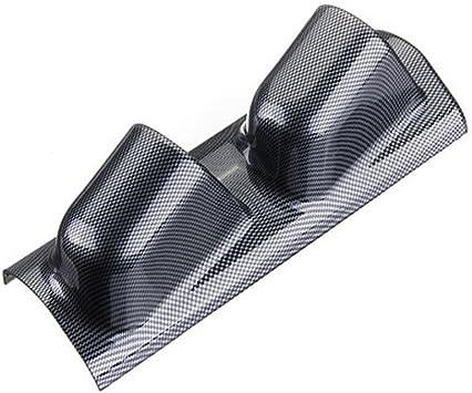 """Black 2/"""" 52mm Heavy Duty Two Hole Dash Dashboard Car Gauge Pod Mount Cup Holder"""
