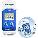 RC-5 USB温度記録計 USB温度データーロガー データレコーダー 32000ポイント 簡単に温度を記録し、解析できるデータロガー ブルー