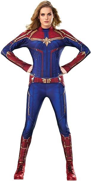 Amazon.com: Disfraz de Capitán Marvel Hero de Rubies para ...