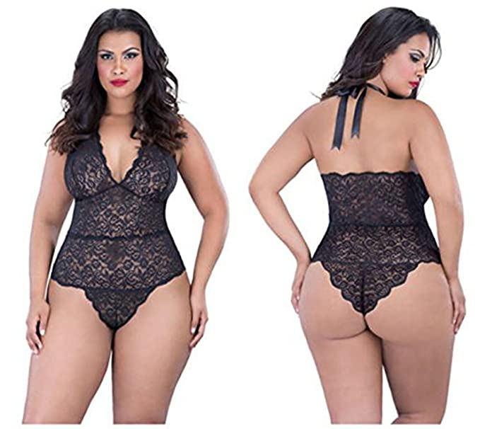 Smile Xl Temptation Fat Girl Underwear Sexy Lace Nightgown Big Yards Sexy Lingerie