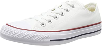Converse Chuck Taylor All Star Low Sneakers Optical White Mens 8.5