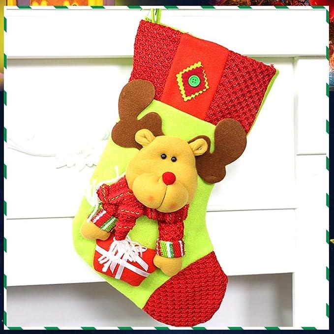 Ogquaton Bolsa de Regalo Colgante de árbol de Navidad de ...