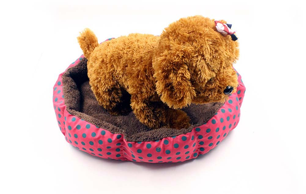 B Small B Small QAZSE Octagonal Lint Warm Dog Bed
