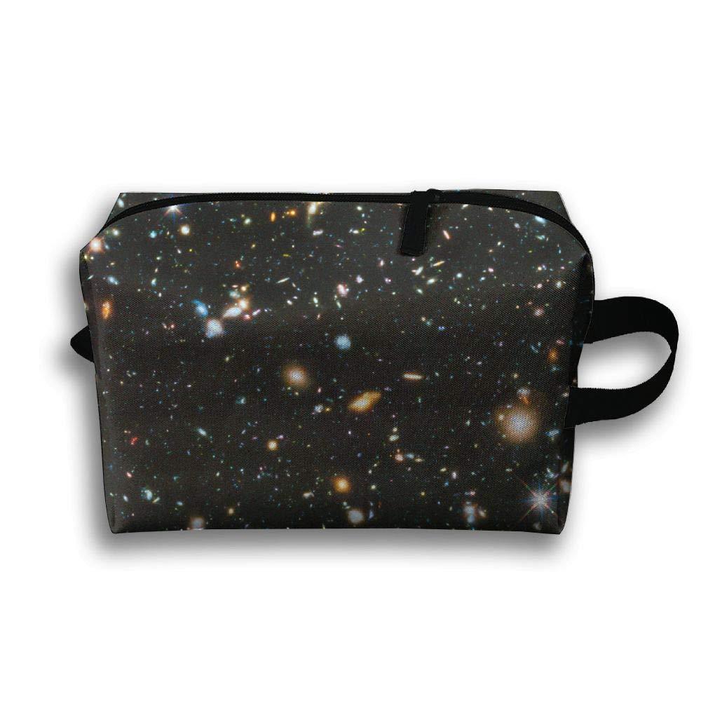 LEIJGS 星の輝くカラフルな小型の旅行用洗面用具入れ 超軽量トイレタリーオーガナイザー 夜間の旅行用バッグ   B07H2C9H77