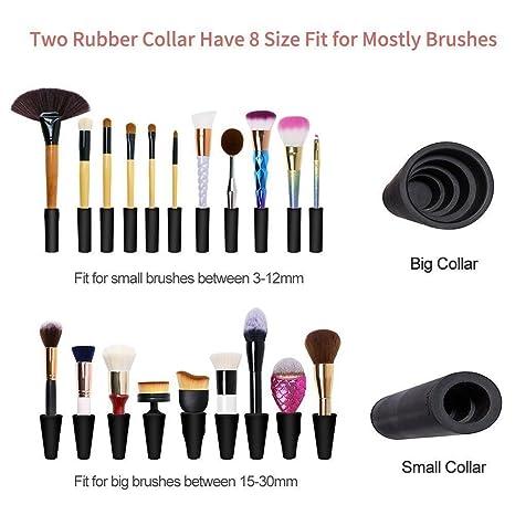 Amazon.com : Maquinas Para Mujer Lavadora Y Secadora Brochas Pinceles De Maquillaje Y Pintura : Beauty