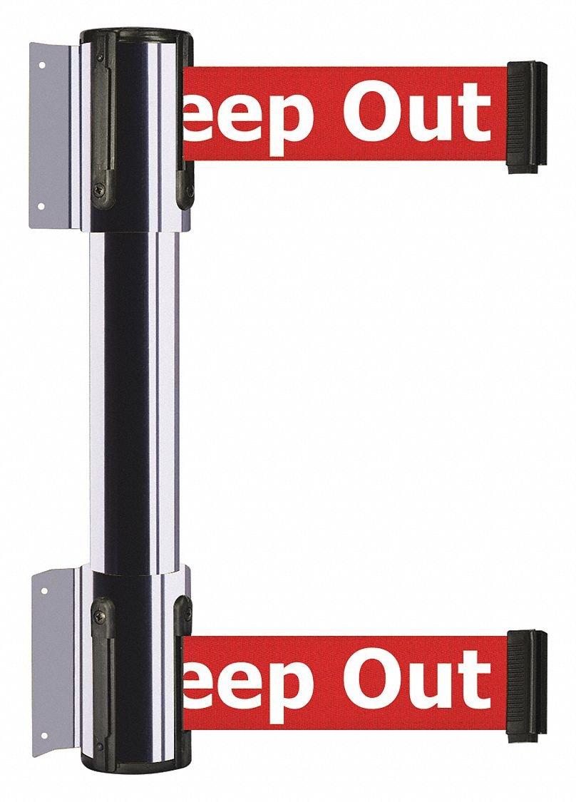Belt Barrier,Danger - Keep Out by TENSATOR