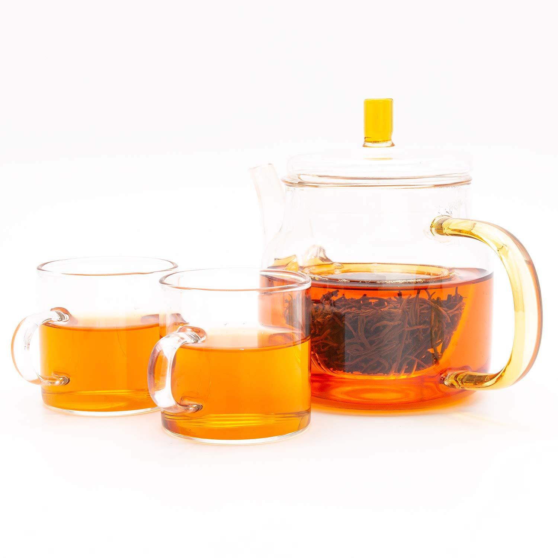 Oriarm 250g / 8.82oz Wuyi Lapsang Souchong Loose Tea - Zheng Shan Xiao Zhong Lightly Smoked Black Tea Loose Leaf - 1st grade - Caffeinated - Brew Hot or