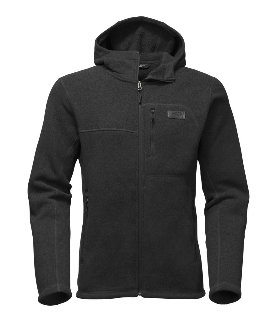 The North Face Men's Gordon Lyons Hoodie - TNF Black Heather - L (Past Season) by The North Face