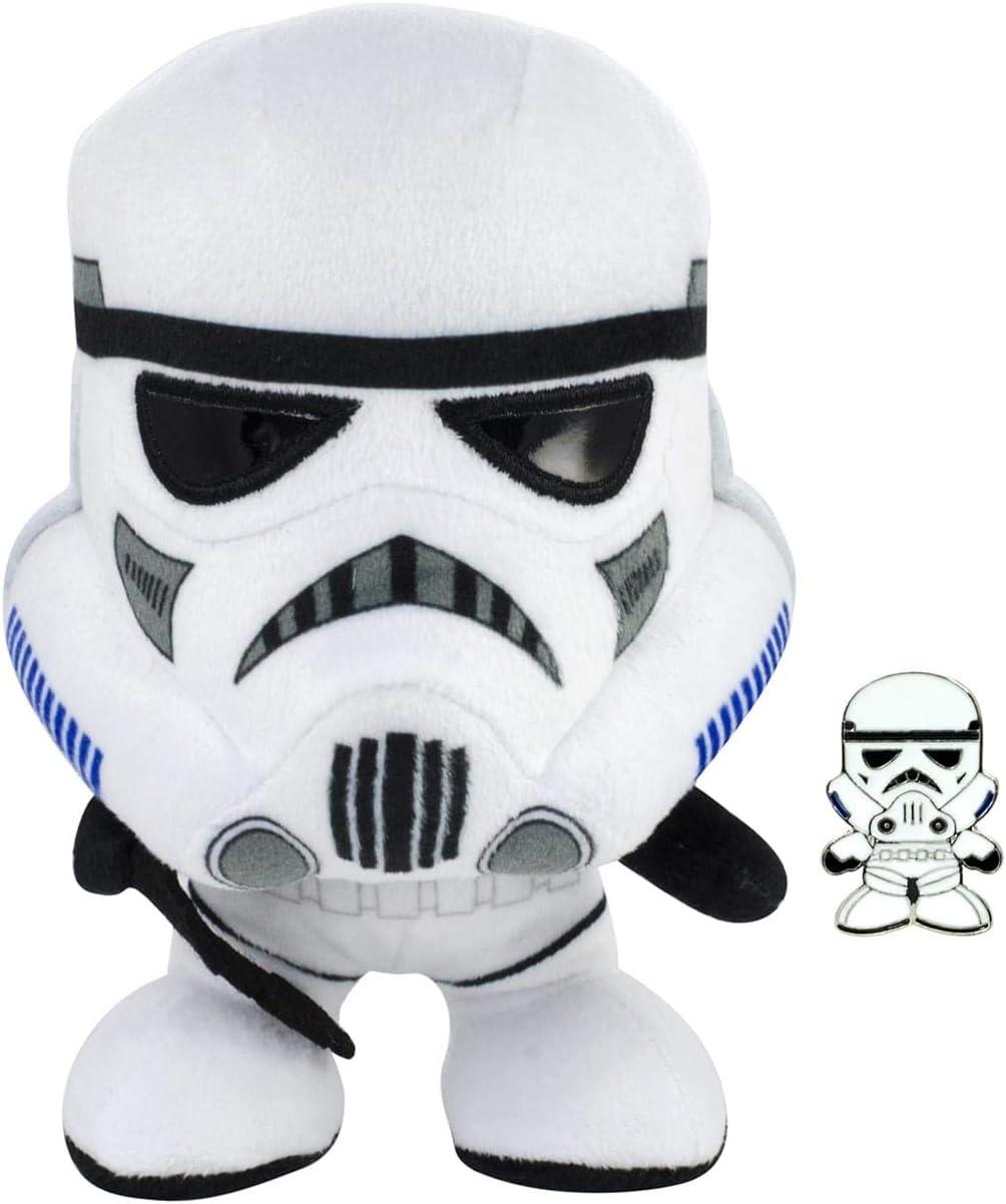Star Wars Chewbacca /&  Darth Vader 8 1//2-Inch Talking Plush Set Underground Toys