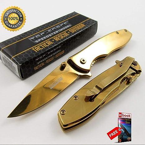 Amazon.com: Cuchillos de combate Tac-Force con acabado de ...