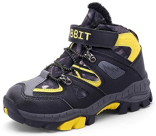 Pastaza - Zapatillas Altas de Sintético Niños, Color Amarillo, Talla 33 EU: Amazon.es: Zapatos y complementos