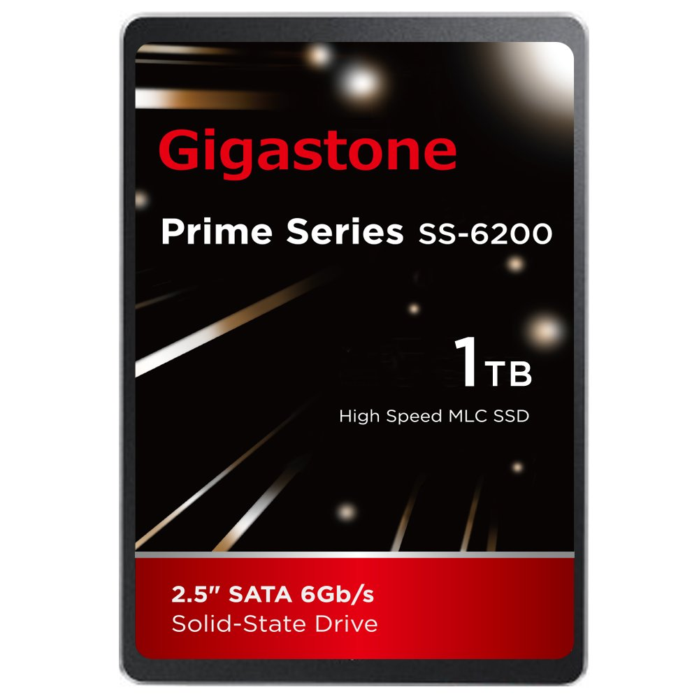 Gigastone 1TB SSD Intel MLC 2.5 SATA 3 Solid State Drive [Performance HD Upgrade for HP Dell Samsung Sony Asus PC, Apple Mac, Macbook, Laptop, Notebook Ultbook, Gaming, Video Editing, Server, Raid] by Gigastone   B01HTAP8T6