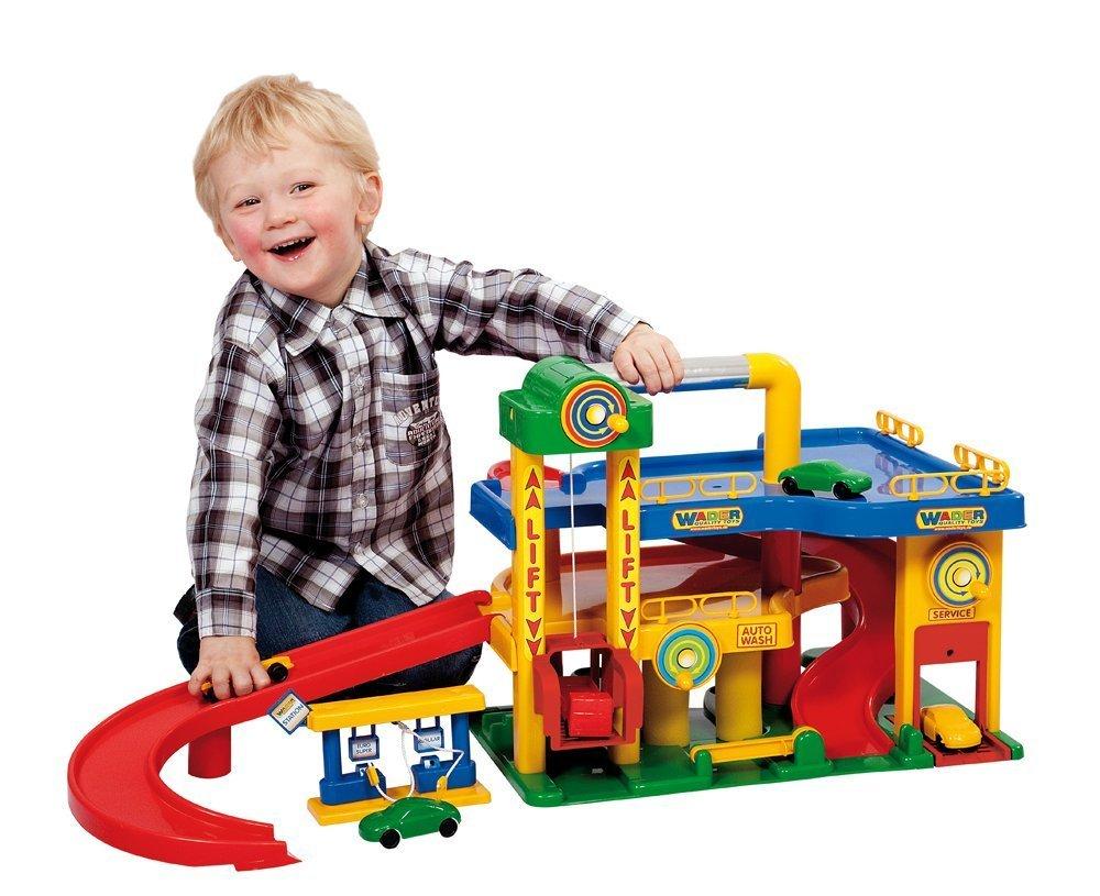 Polesie 37824 - Garage No. 1 mit Autos Wader Auto & Verkehrs Zubehör Autos & andere Fahrzeuge Kinder
