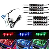 xkglow control module - iJDMTOY 8-Piece Universal Fit 48-LED RGB Multi-Color LED Engine Bay or Under Car Ambient Decorational Lighting Kit w/ Wireless Remote Control