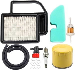 Dxent 20 083 02-S Air Filter for Kohler SV590 SV610 SV600 SV620 SV470 SV471 SV480 SV530 SV540 SV541 Oil Filter Fuel Line Pre Filter Tune Up Kit LT1042 LT1045 LTX1042 LTX1040 LTX1045 Lawn Mower