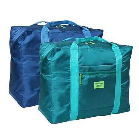 fbee19e3d Amazon.com | Foldable Travel Duffel Bag 20'' Lightweight Waterproof Travel  Luggage Bag(Pack of 2) | Travel Duffels
