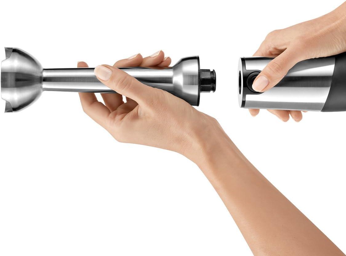 0.8 Litri 750 W 1 Decibel Acciaio Inox Bosch MSM87110 Mixer a Immersione