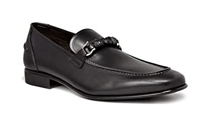 2014 newest cheap online Salvatore Ferragamo Leather Embossed Loafers with paypal cheap online zh6V171GS