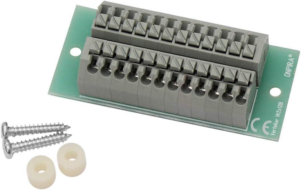 Edelstahlmarkenshop Stromverteiler Verteiler 8a Belastbar Modellbau Gleich Und Wechselstrom Serie B Modell W2x12b Spielzeug