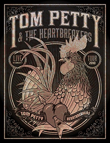 Tom Petty #2 Concert reprint mini poster w/ FREE Gift & FREE US - Policy Returns Toms