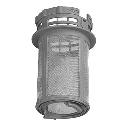 Spares2go - Filtro de desagüe central para lavavajillas (2 ...