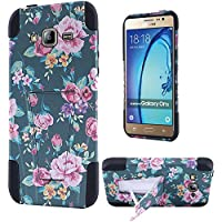 HR Wireless Cell Phone Case for Samsung Galaxy On5 - Tropical Romantic Colorful Roses Floral