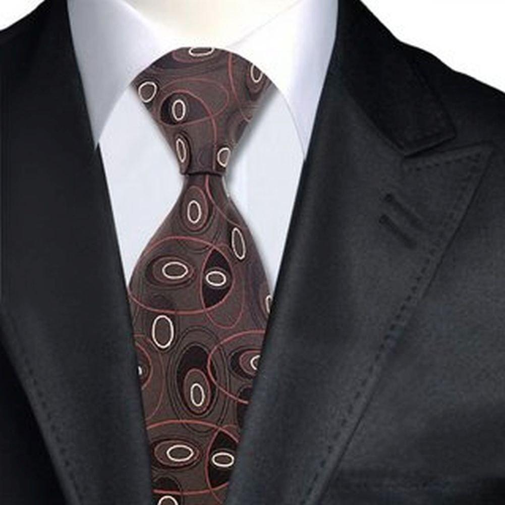 Jason&Vogue - Corbata - Básico - para hombre marrón marrón ...