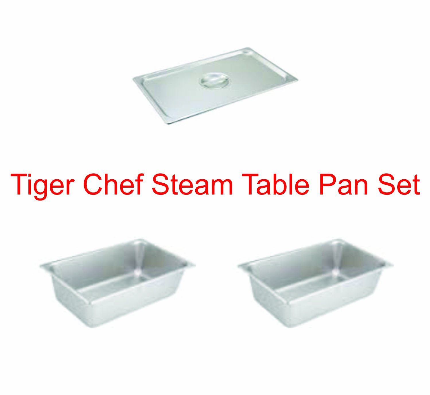 TigerChef TC-20335 Table Pan Set (Pack of 3)