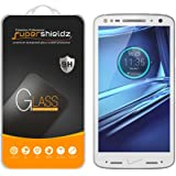 [2-Pack] Supershieldz- Motorola Droid Turbo 2 Tempered Glass Screen Protector, Ballistic Glass 0.2mm, Anti-Scratch, Anti-Fingerprint, Bubble Free -Retail Packaging