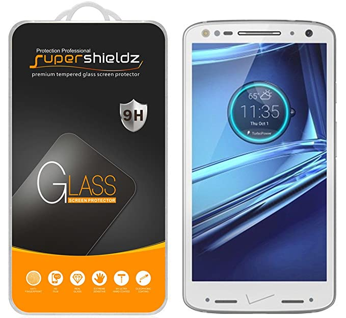 "Supershieldz for Motorola ""Droid Turbo 2"" Tempered Glass Screen Protector, Anti-"
