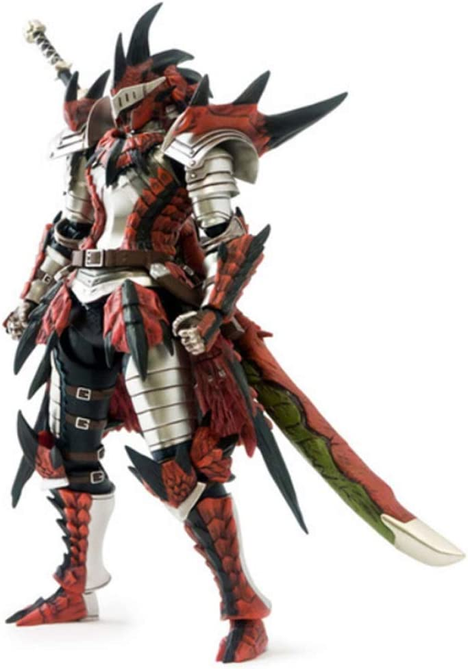 [E-Capcom Limited] Monster Hunter 4 full operation action figure Reus series equipped with Hunter Swordsman