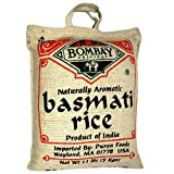 Bombay Original Naturally Aromatic Basmati Rice, 10 lbs