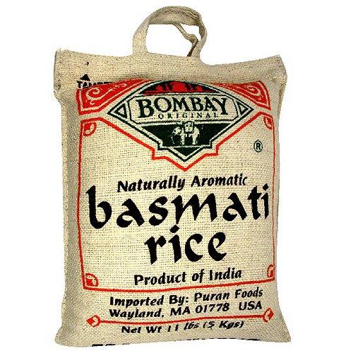 Bombay Original Naturally Aromatic Basmati Rice, 10 lbs by Bombay Original