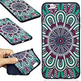 "Case for iPhone 6 Plus - iPhone 6S Plus (5.5"") - ANGELLA-M Ultra Slim Flexible Soft Premium TPU Gel Silicone Bumper Shell - HDMH"